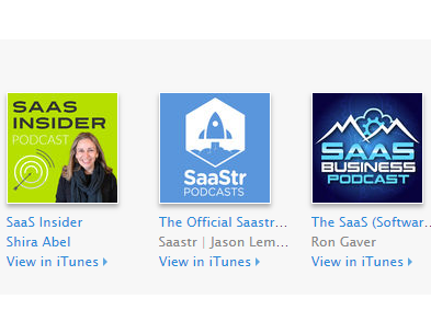 the best SaaS podcasts
